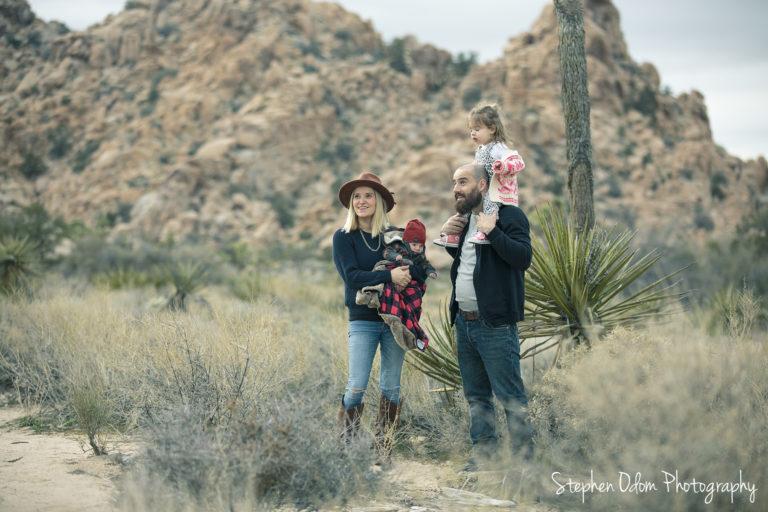 Joshua Tree Robinson Family Photos