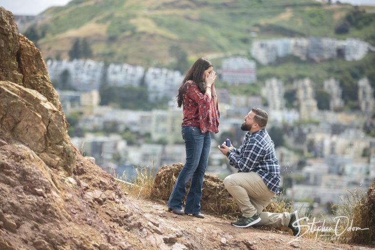 San Francisco, CA Proposal Vincente and Vanessa