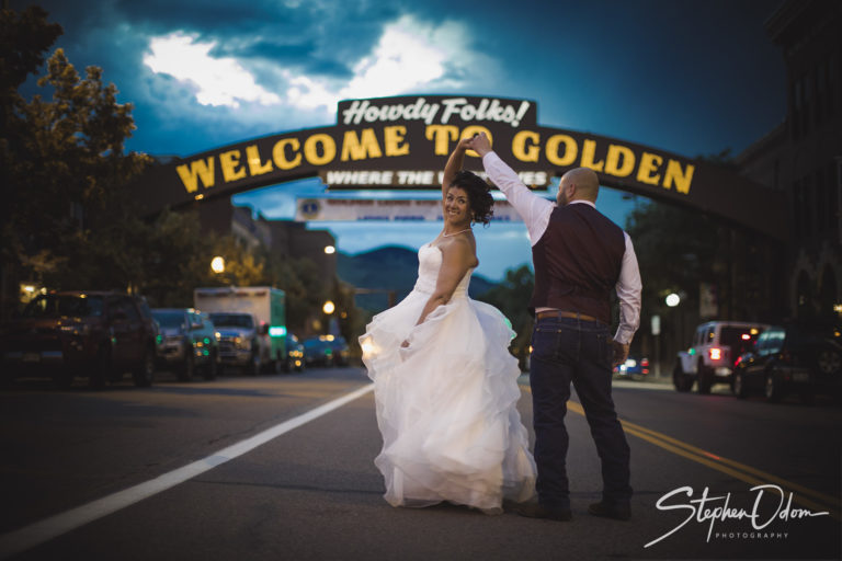 Golden, CO Bridal Photoshoot