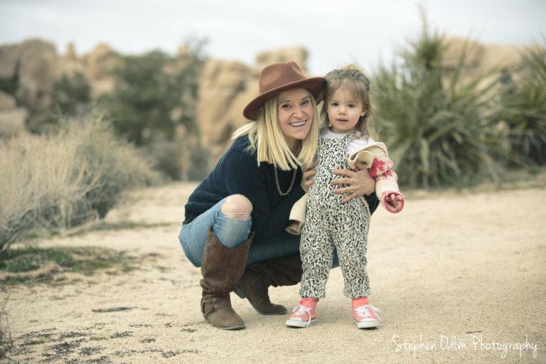 Joshua Tree Robinson Family Photos – Stephen Odom Photography